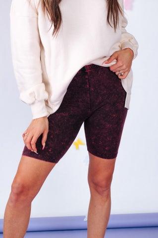 Cherry On Top Biker Shorts