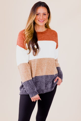 Know Me Well Chenille Sweater