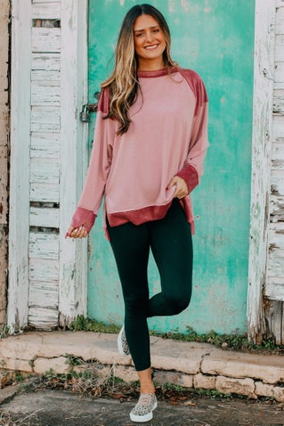 Phoebe Textured Pullover