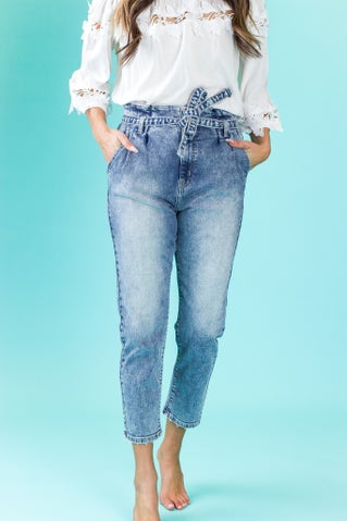 Love Maze Mom Jeans