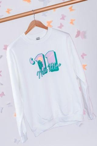 Anniversary Sweatshirt - White