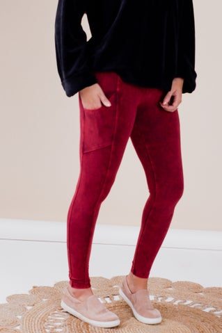 Cherry On Top Leggings With Pockets
