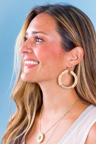 Half Past Hoop Earrings