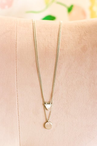 Under The Line Necklace