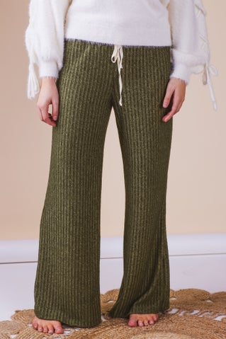 Daydreamer Brush Ribbed Lounge Pants