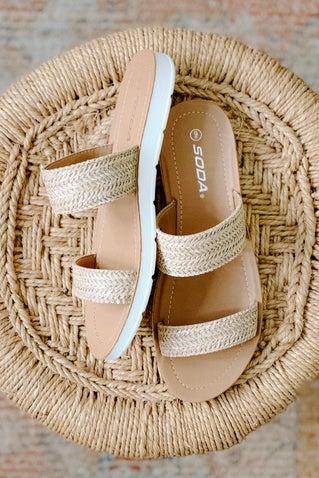 Preoccupied Sandals