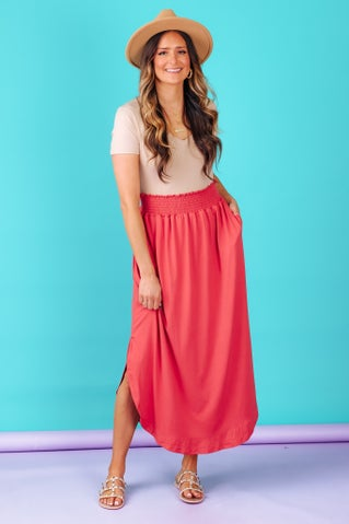 Romantic Twist Skirt