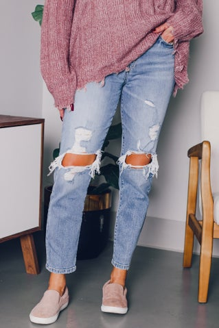 Old School Mom Jeans