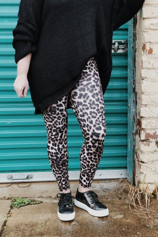 Feel So Good Leopard Leggings
