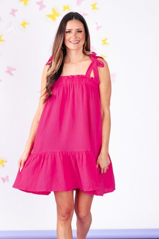 Break My Heart Mini Dress