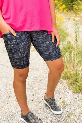 First Chance Biker Shorts