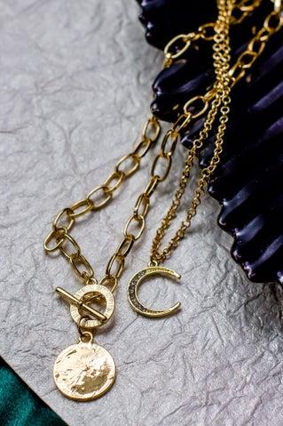 Dual Wave Necklace