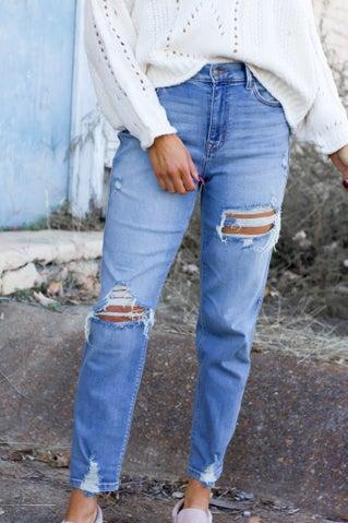 On Time Boyfriend Jeans
