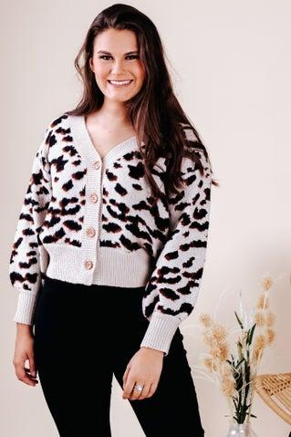 Arctic Treasure Cardi Sweater