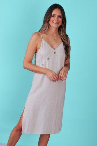 Queen Of The Cove Midi Dress