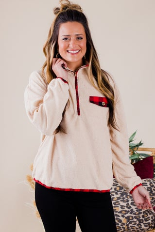 Hailey Rae Fleece Top