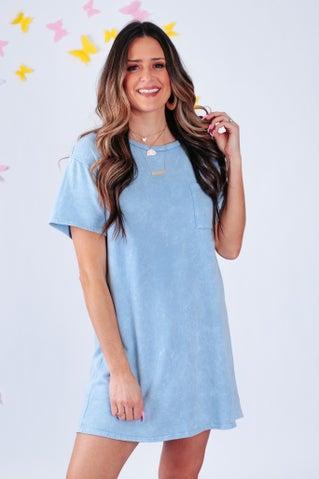 Livin' On Love T-Shirt Dress