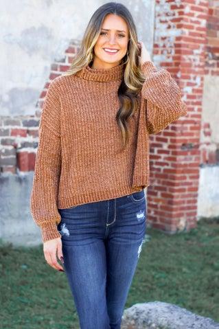 Be My Light Chenille Sweater
