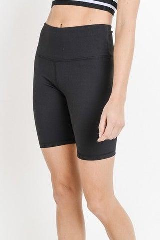 Breaking Free Biker Shorts