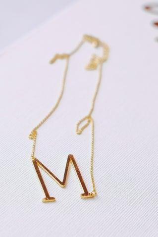 Sylvie Initial Necklace