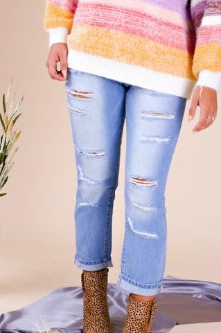 All My Time Boyfriend Jeans