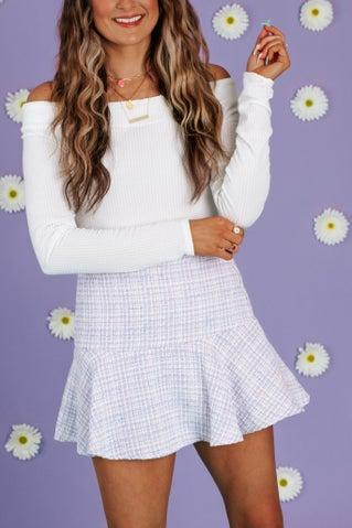 Chanel A-Line Mini Skirt