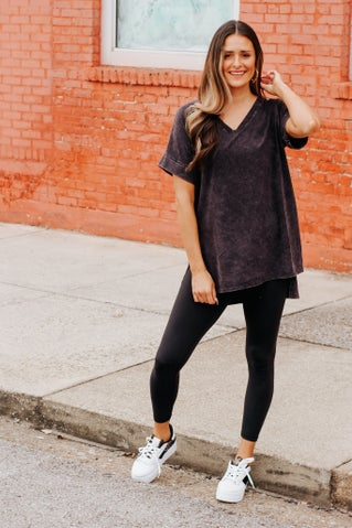 Cherry on Top V Neck Tunic