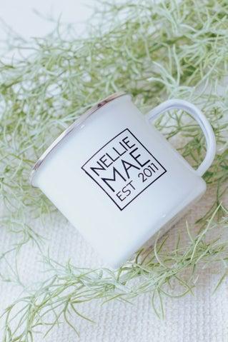 Nellie Mae Metal Mug