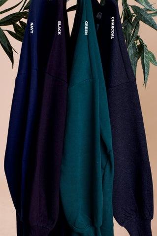 This Is Now Sweatshirt Dress