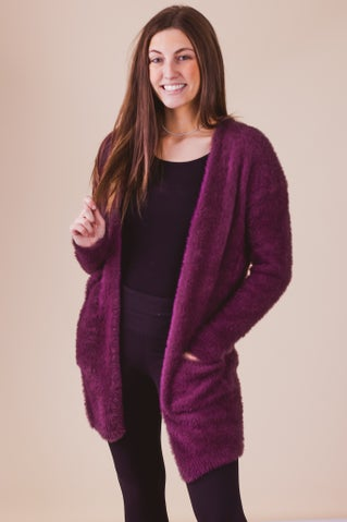 Fuzzy Feelings Cardigan