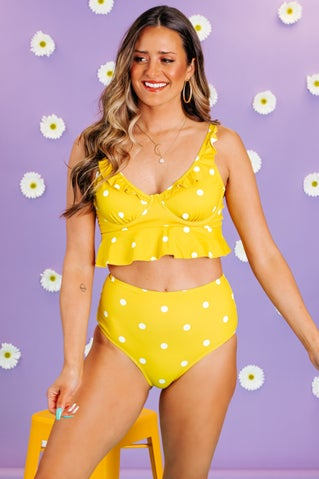 Itsy Bitsy High Waisted Bikini