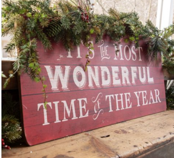 Wonderful Time of Year Sign *Final Sale*