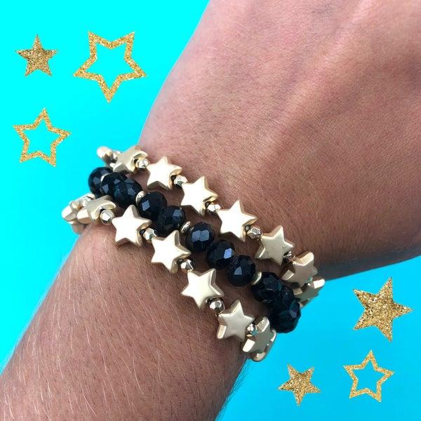 Star Bracelet Cluster Set-FINAL SALE