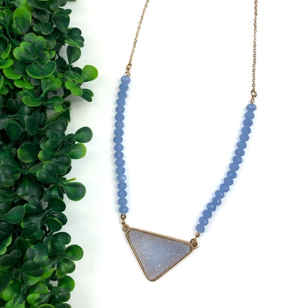 A Touch of Druzy Necklace