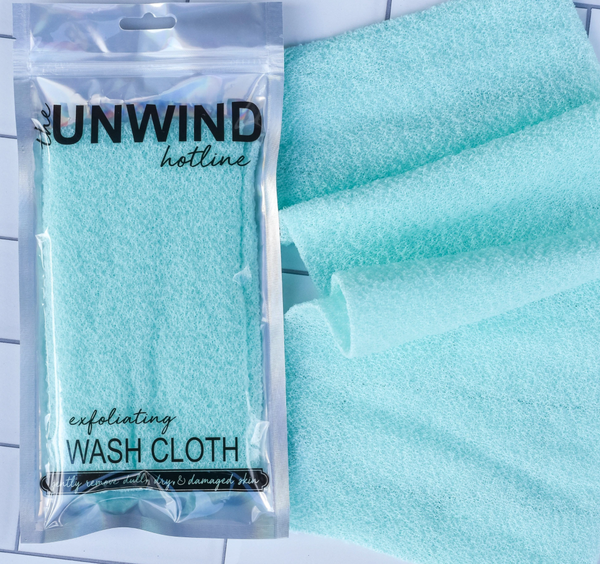 Exfoliating Stretch Wash Cloths *Final Sale* - Mint