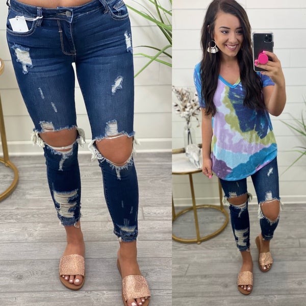 Mix it Up Skinny Jeans