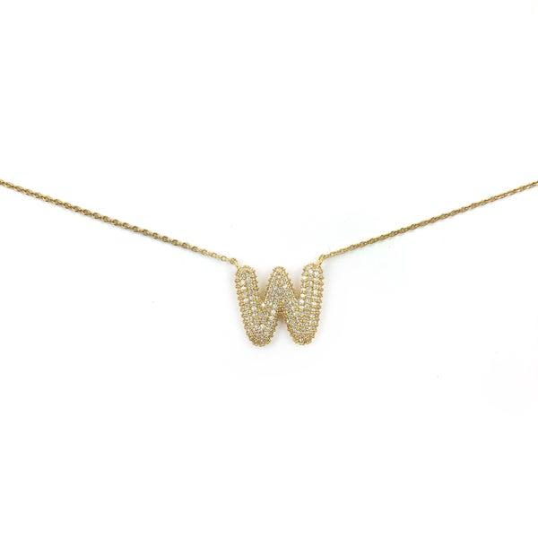Diamond Initial Necklace *Final Sale*