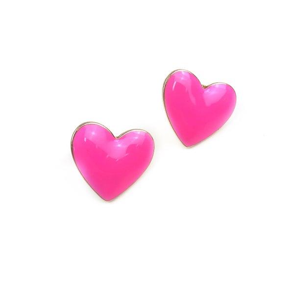 Love Of A Lifetime Heart Studs *Final Sale*