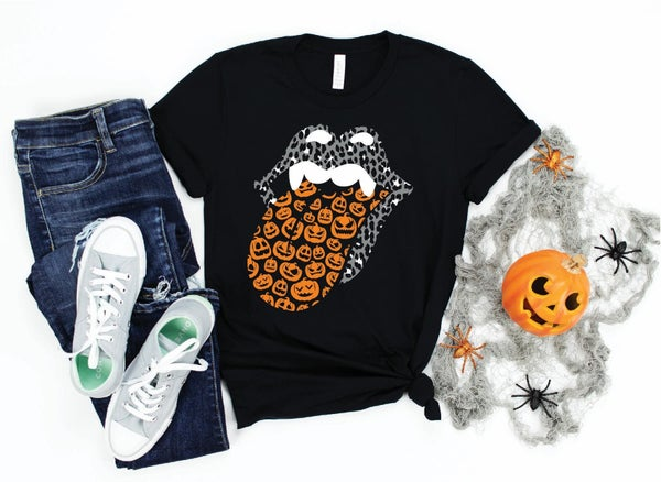 Halloween Tongue T-Shirt *Final Sale*