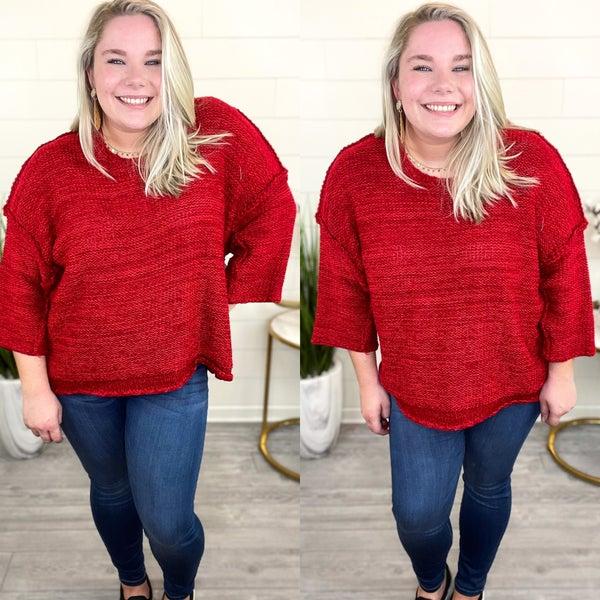 Casual Evening Sweater *Final Sale*