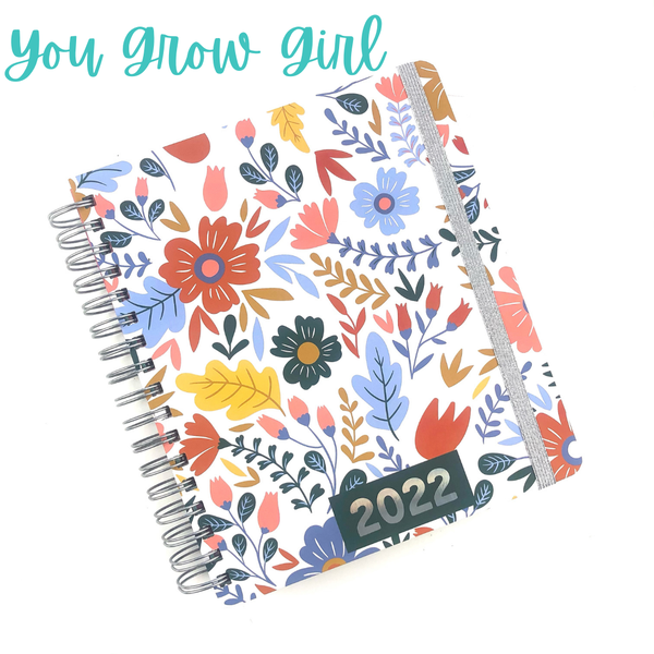 A New Year Planner *Final Sale* - You Grow Girl