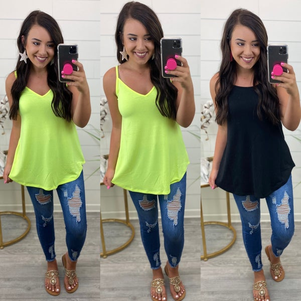 DEAL OF THE DAY - Got to Trust You Reversible Tank Top *Final Sale*