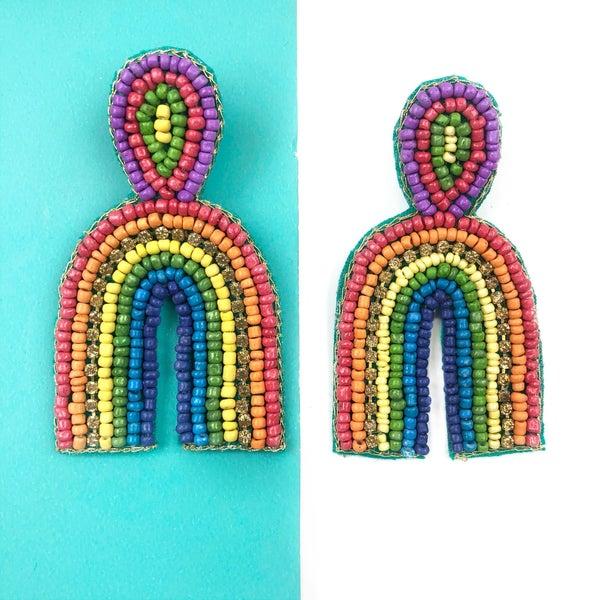 Rainbow Arch Earrings *Final Sale*