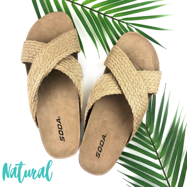 The Right Time Sandals *Final Sale* - Natural
