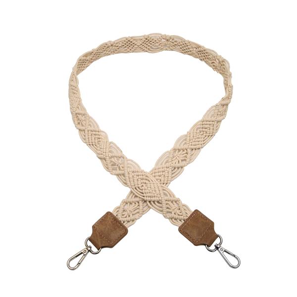 Handmade Woven Macrame Strap *Final Sale*