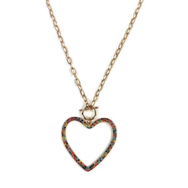 Light Up My Soul Heart Necklace *Final Sale*
