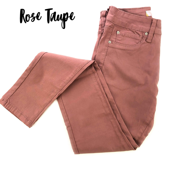 YMI Hyperstretch Skinnies *Final Sale* - Rose Taupe