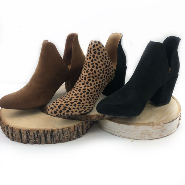 Feel The Night Booties - FINAL SALE