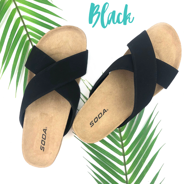 The Right Time Sandals *Final Sale* - Black
