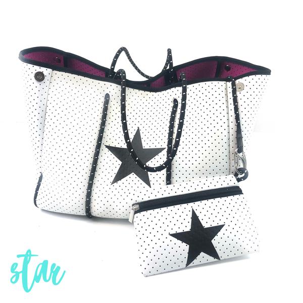 Summer Feelings Neoprene Tote Bag *Final Sale* - Star